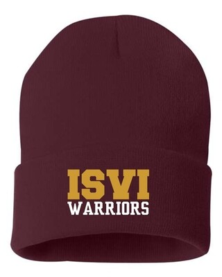 WARRIORS-EMBROIDERED STOCKING CAP-SP12
