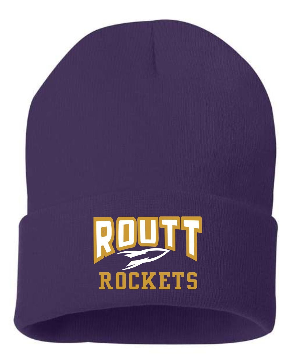 ROUTT-EMBROIDERED STOCKING CAP-SP12