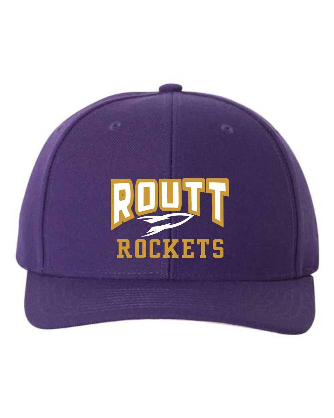 ROUTT-ADJUSTABLE EMBROIDERED HAT-514