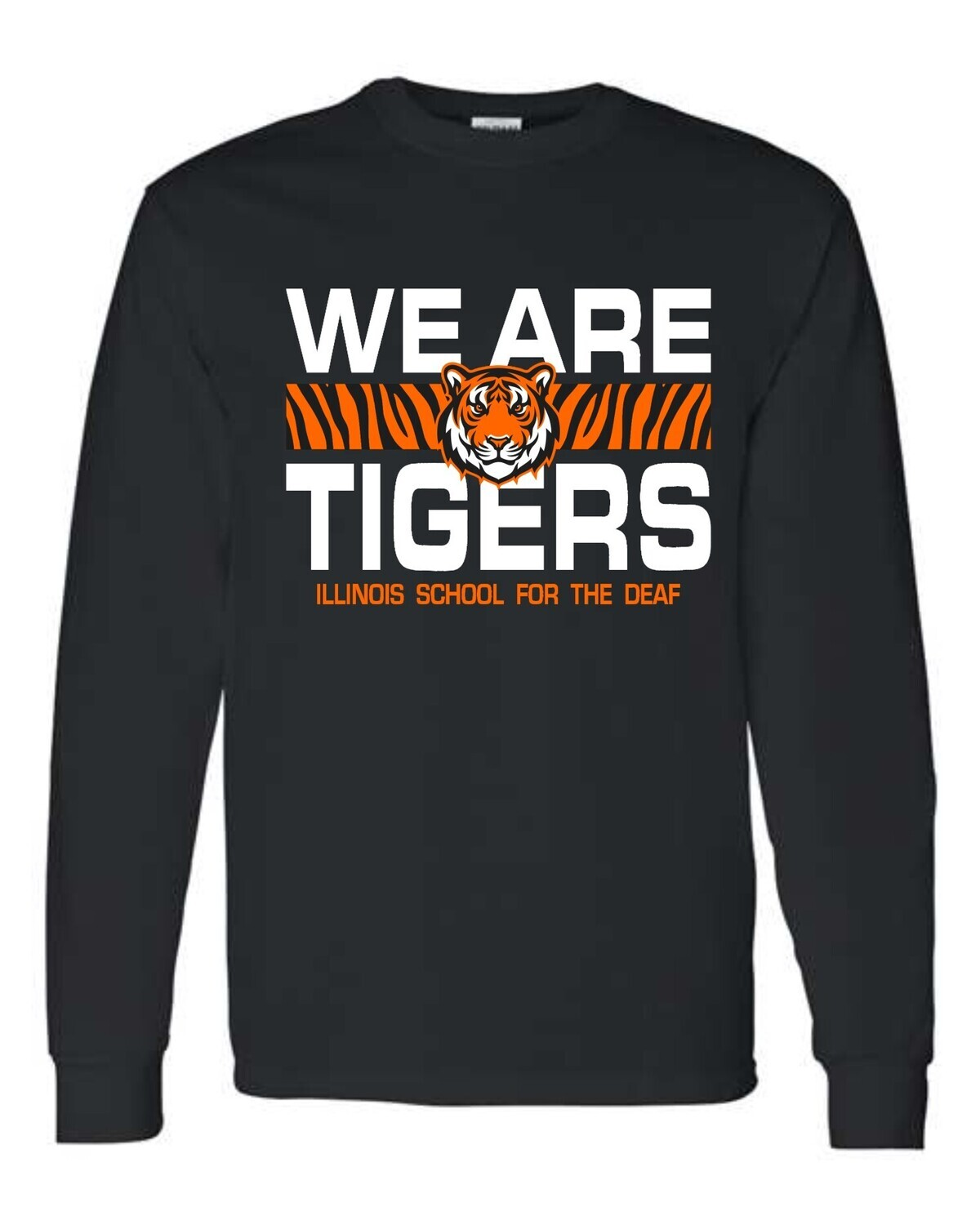ISD WE ARE TIGERS-2400 BLACK