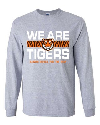 ISD WE ARE TIGERS-2400 GRAY
