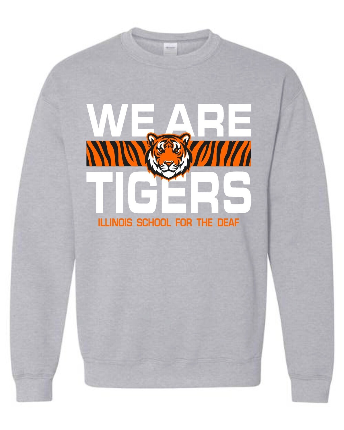 ISD WE ARE TIGERS-18000 GRAY