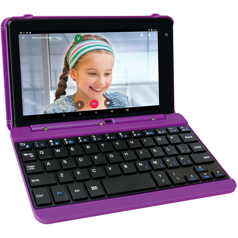 RCA Voyager Pro 7 ECRAN DE 7 POUCES 16GB Tablet Avec Clavier Keyboard Case Android 6.0 (Marshmallow Mauve)