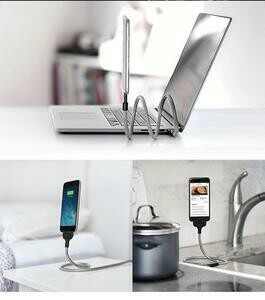 PHONE HOLDER COIL CABLE DATA ANDROID