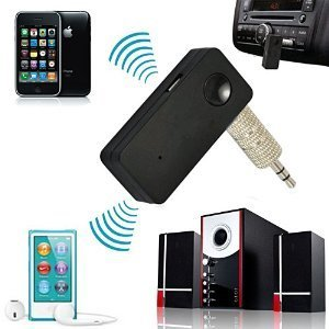 Bluetooth Adapter Receiver Car Audio & Phone Call - USB Power, 3.5 mm Djack