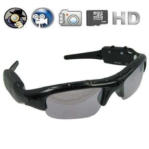 Lunettes avec Camera/ Sunglasses with Camera for Self Security