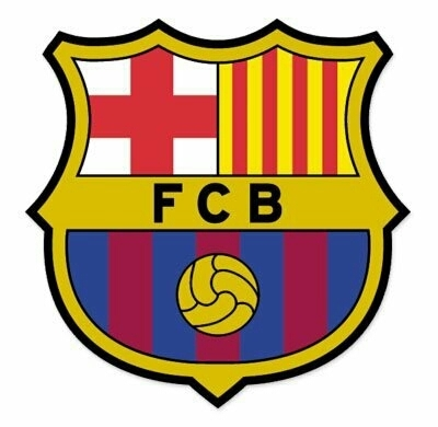 "FC Barcelone Sticker Vitre de Voiture 4"" - Waterproof - ShopEasy"