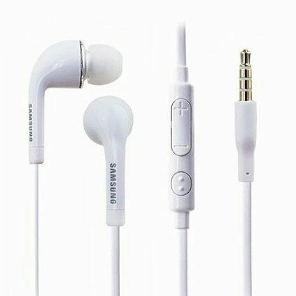 Ecouteurs Samsung Son Clair Earbud - Appel Telephonique et Musique 3.5 mm Djack Headset Earphone Earpiecce