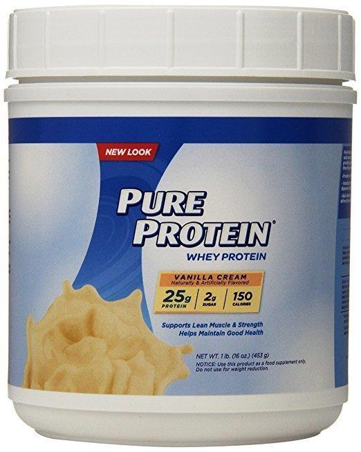 Pure Protein 100% Whey en Poudre - Vanilla Cream, 1 Livre - ShopEasy