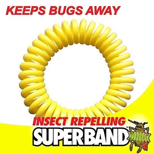 Bracelet Anti-Moustique - Anti-Insecte 200 Heures de Protection Odeur Citronelle - Mosquito Repellent
