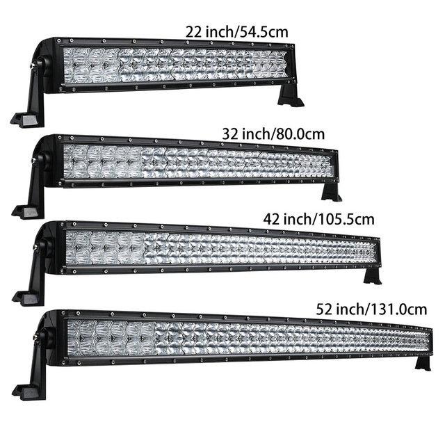 Light Bar 22 Pouces 120W Tout Vehicule Waterproof Spot Light