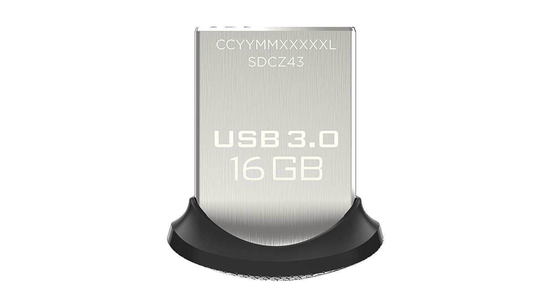 USB SanDisk Ultra Fit USB 3.0 Flash Drive 16GB 130MB/s