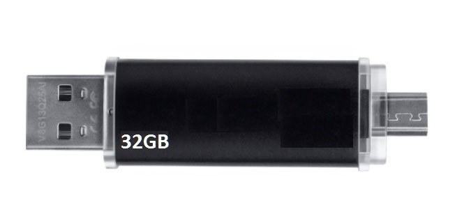 USB Double Android & PC 32GB Version 5.0