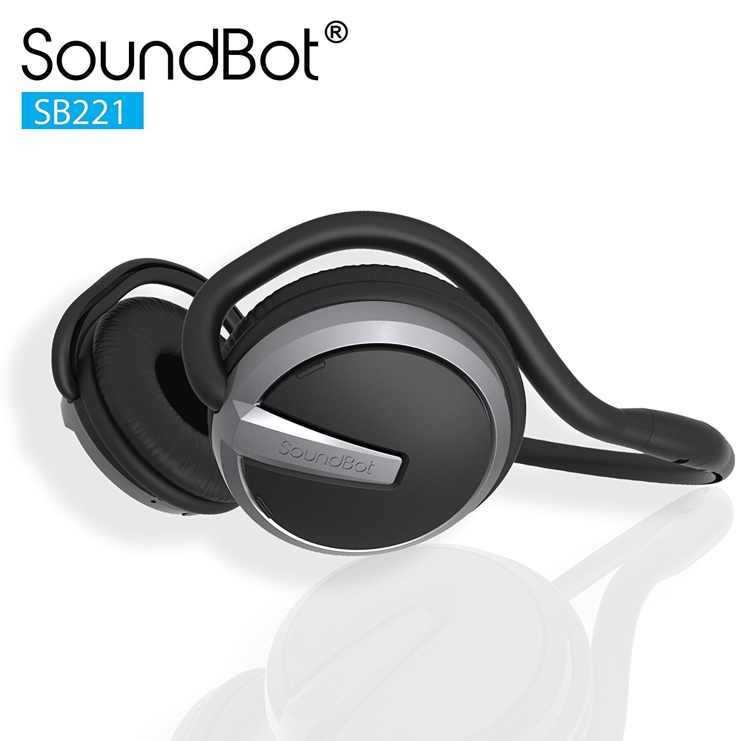 Soundbot 2: Headphone Bluetooth Music & Appel Telephonique SB221 -