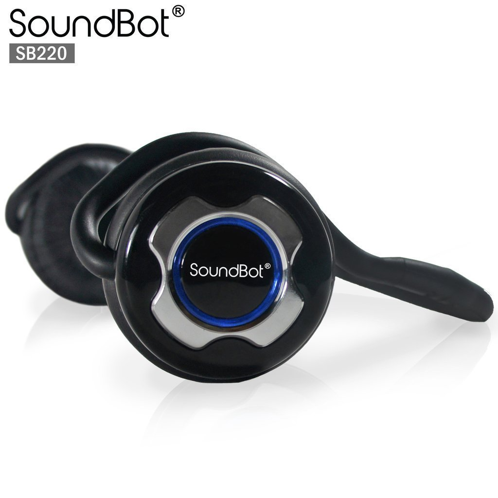 Soundbot 1: Headphone Bluetooth Music & Appel Telephonique SB220 -