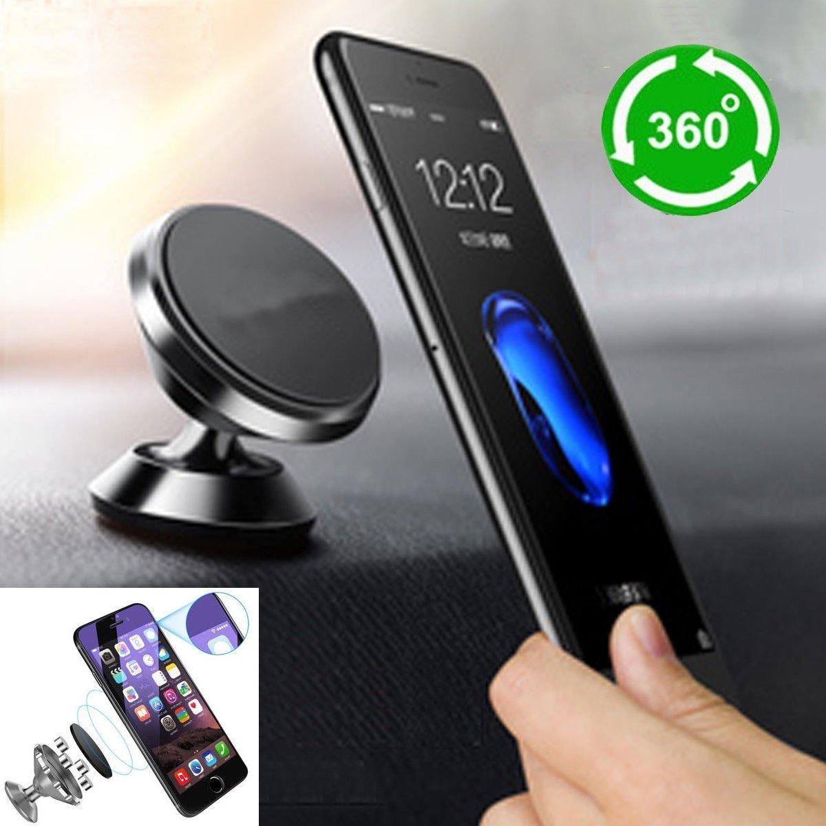 Phone Holder Autocollant et Magnetic Mount