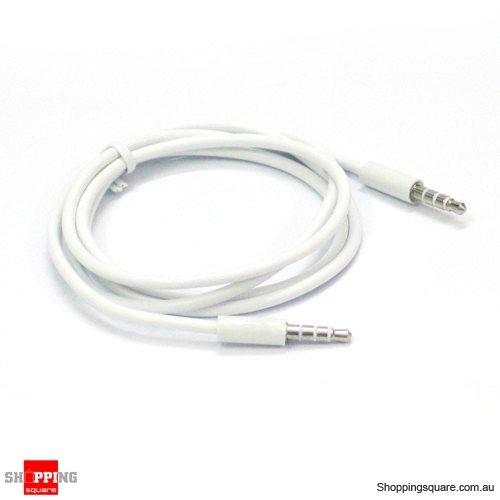 3.5 mm a 3.5 mm Jack avec Port Audio & Microphone