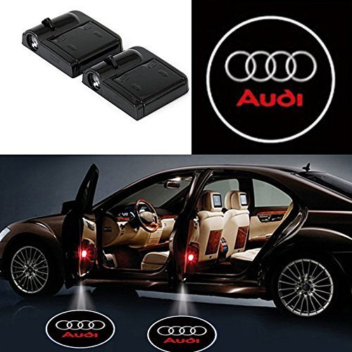 AUDI SERIES Logo Projecteur LED pour Audi Series UNIVERSELLE - Car Design Projector Laser Embleme Audi Series