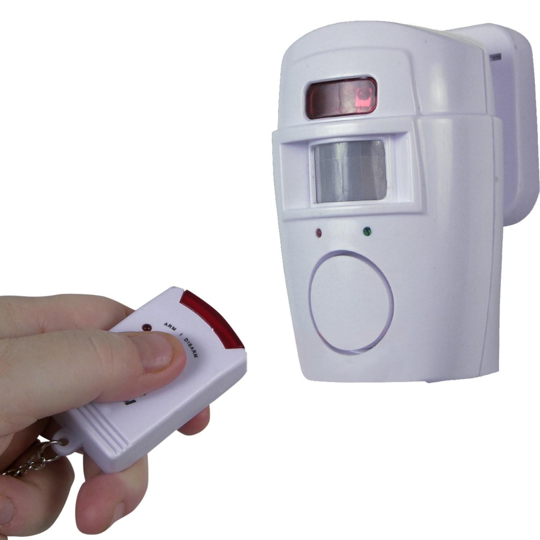 Alarme pour Maison ou Magasin avec Detecteur de Mouvement Telecommande (2 Remotes)