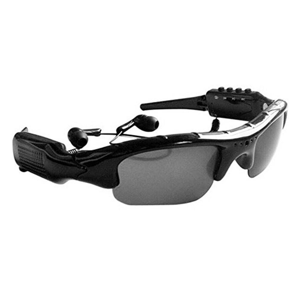 Lunettes Camera Sport + Sunglasses MP3 avec Port pour Memory Card - ShopEasy