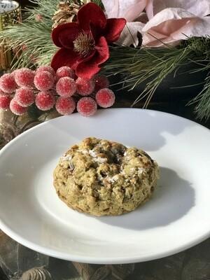 Oatmeal Cookie Stuffed w/ Gianduja Digital Print