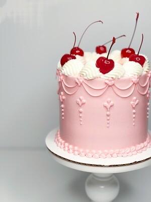 Cherry Chip Cake Digital Print