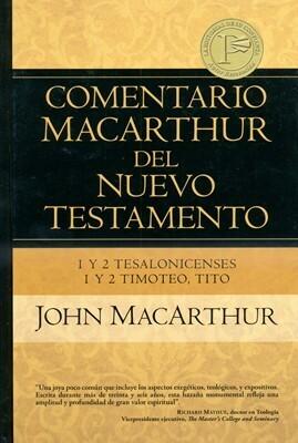 COMENTARIO MACARTHUR-1 y 2 TESALONISENSES, 1 y 2 TIMOTEO & TITO