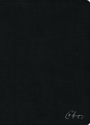 RVR 1960 BIBLIA DE ESTUDIO SPURGEON/NEGRO PIEL GENUINA