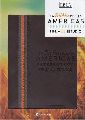 BIBLIA DE ESTUDIO LBLA/PIEL