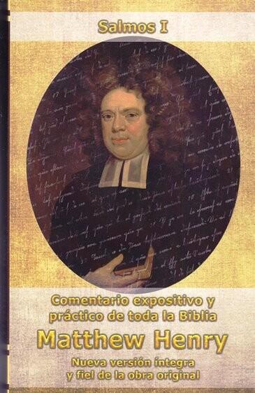 COMENTARIO SALMOS I MATTHEW HENRY