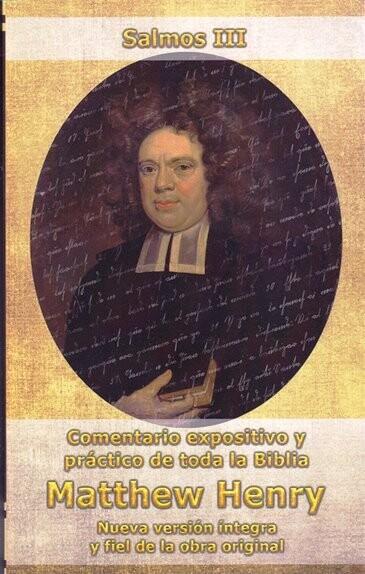 COMENTARIOS SALMOS III CAP 101-150 MATTHEW HENRY