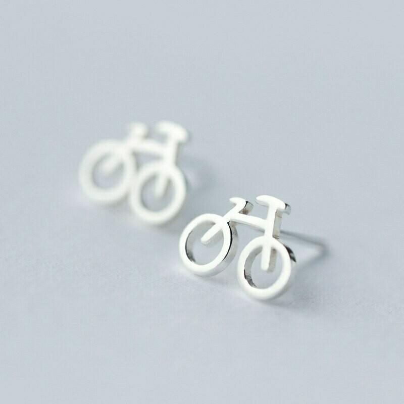 Super Sweet Bicycle Earrings