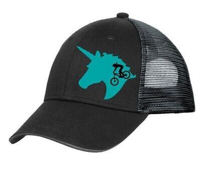 FL MTB Ladies Structured Hat - Black & Silver