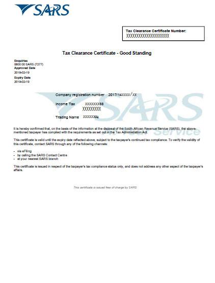 SARS PAYE Registration Online