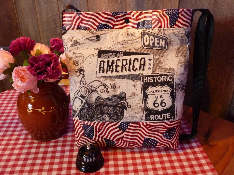 Tasche Made in America Route 66