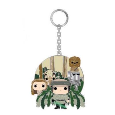 Loungefly Star Wars Pop! Endor 2 1/2-Inch Enamel Key Chain