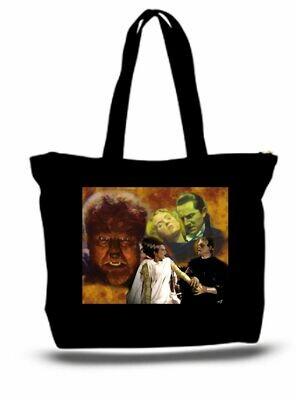 Monsters Frankenstein Dracula XXL Tote Bag For Groceries