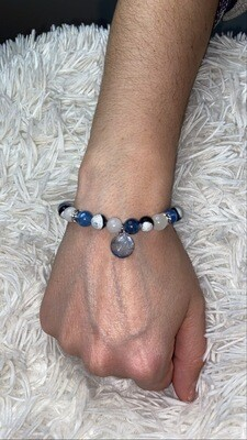 Brazalete Ho'oponopono - Azul hielo