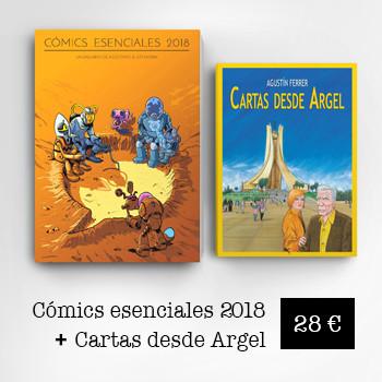 Cómics Esenciales 2018 + Cartas desde Argel