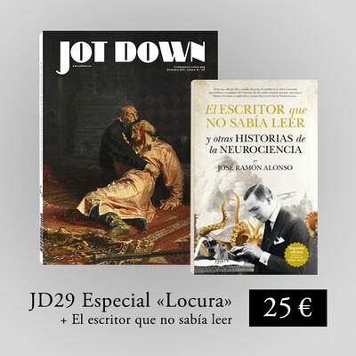 Jot Down nº 29 «Locura» + El escritor que no sabía leer