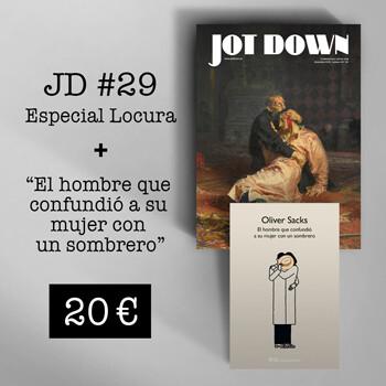 Jot Down nº 29 «Locura» + El hombre que confundió a su mujer con un sombrero