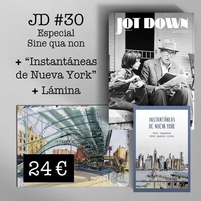 Jot Down nº 30 «Sine qua non» + Instantáneas + Lamina A4