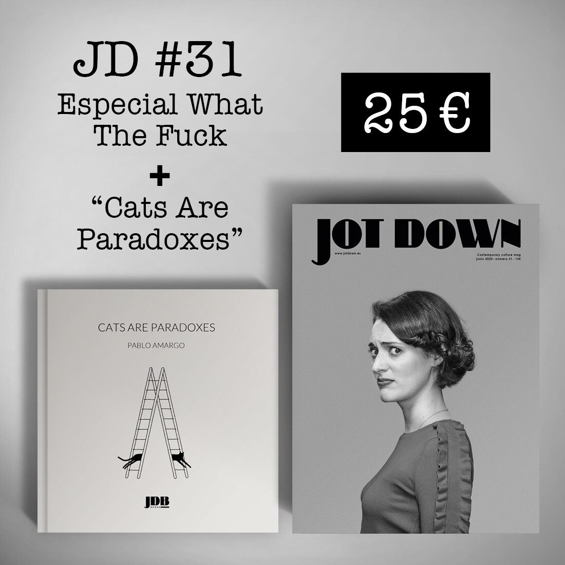 Jot Down nº 31 «WTF» + Cats Are Paradoxes
