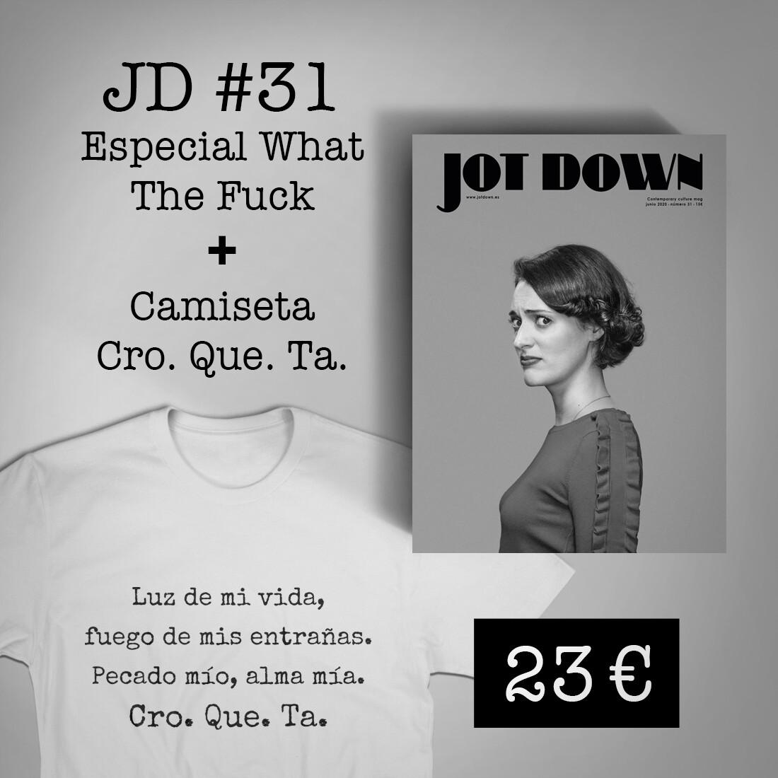 Jot Down nº 31 «WTF» + Camiseta «Cro.Que.Ta.»