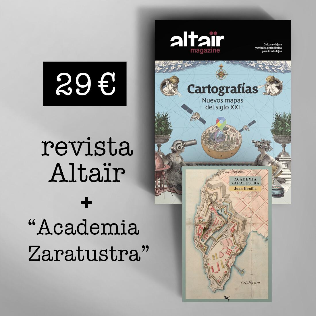 Altair Magazine #13 : Cartografías + Academia Zaratustra