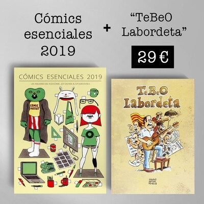 Cómics Esenciales 2019 + TeBeO Labordeta