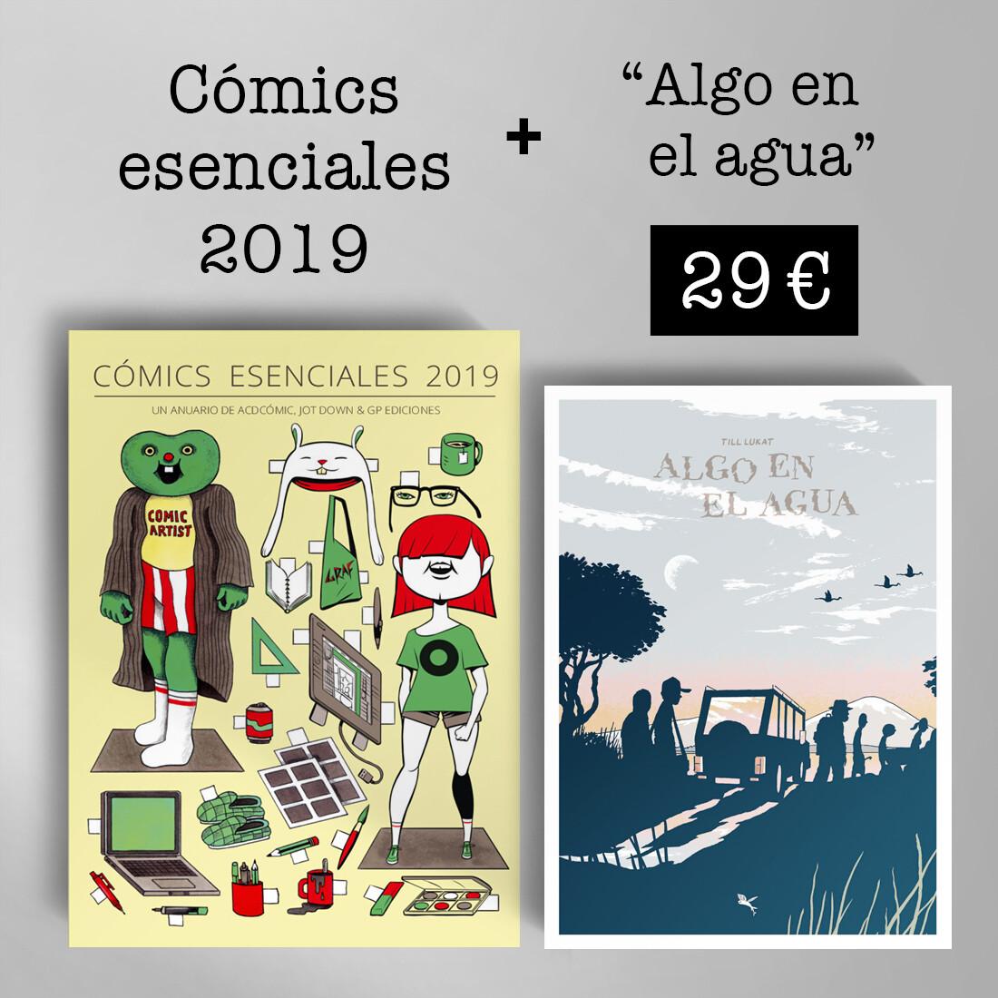 Cómics Esenciales 2019 + Algo en el agua