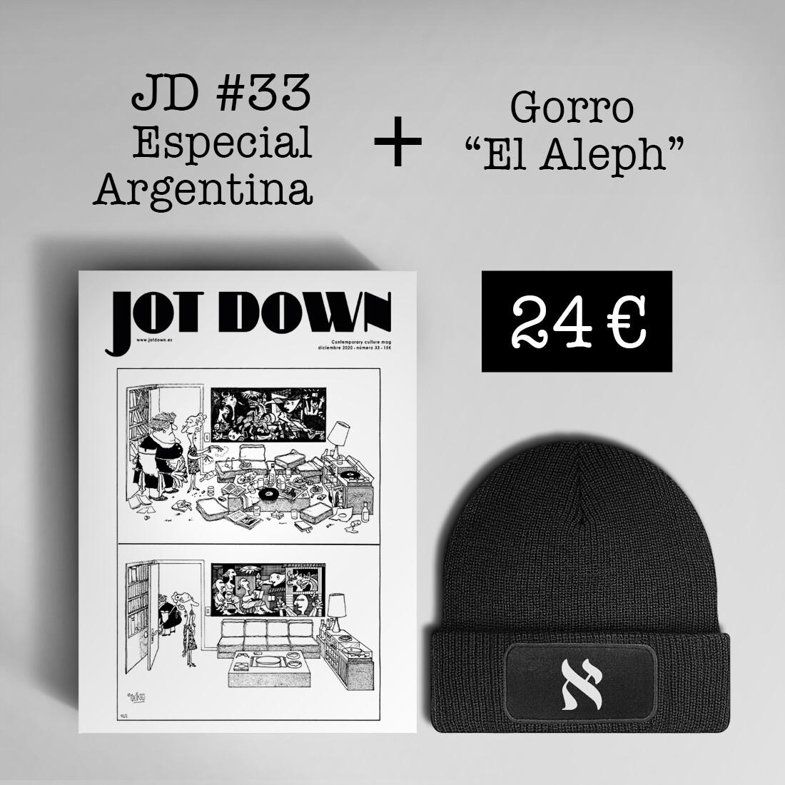 Jot Down nº 33 «Argentina» + Gorro «El Aleph»