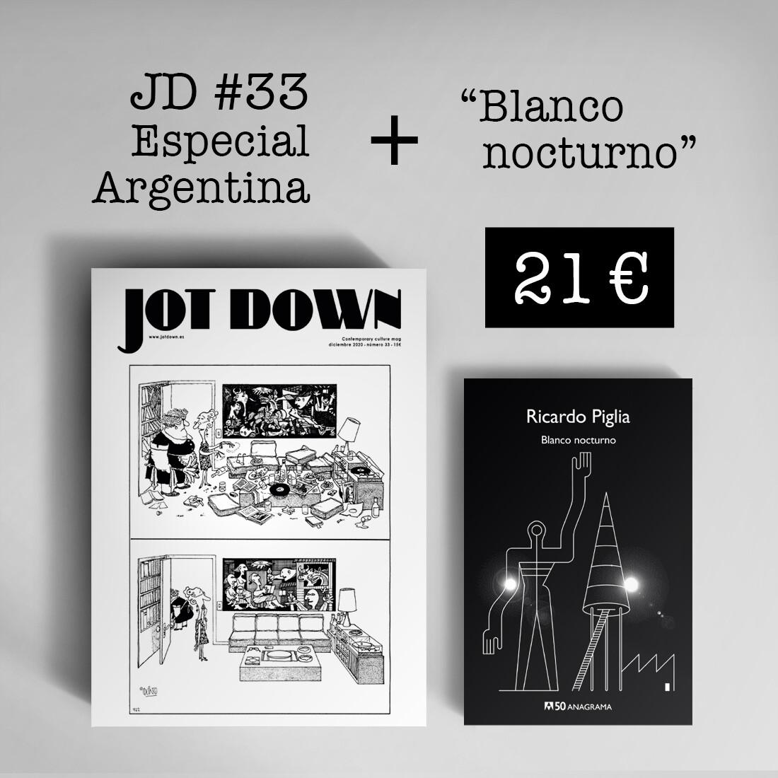 Jot Down nº 33 «Argentina» + Blanco nocturno