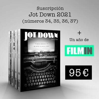 Suscripción 2021 (nº 34 al nº 37) + FILMIN